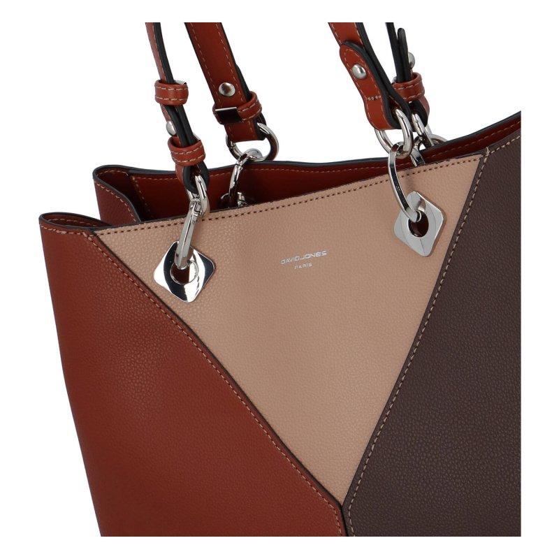 Dámská kombinovaná kabelka Lucia, hnědá
