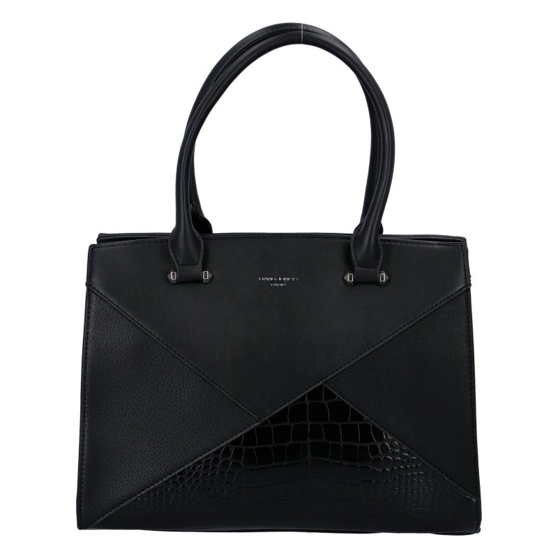 Trendová dámská kabelka Ashley, černá