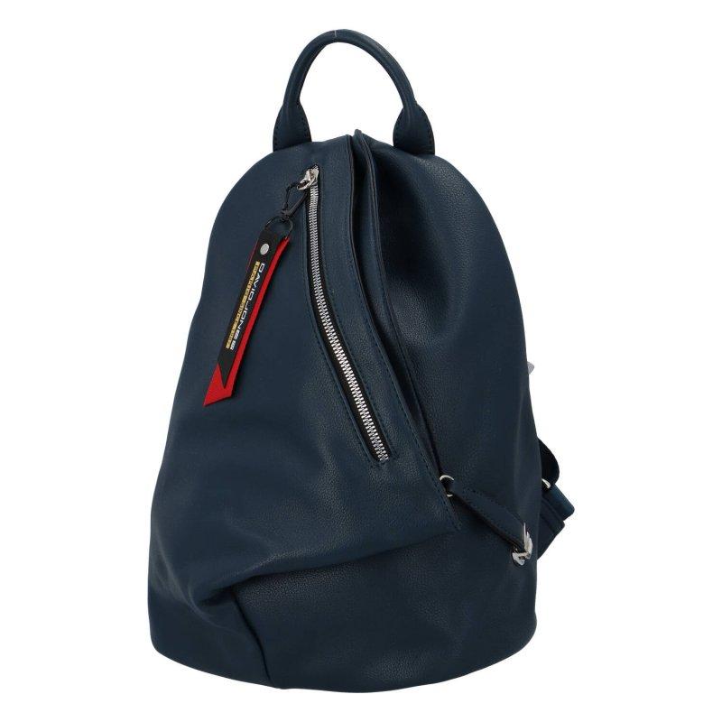 Jedinečný dámský batoh Poppy, modrý