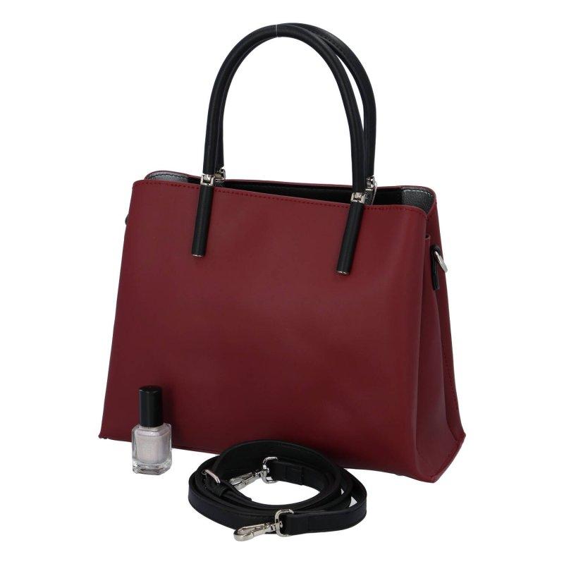 Luxusní dámská kabelka Francis, červená
