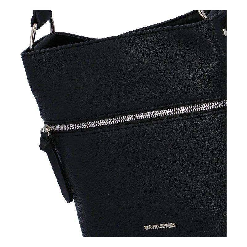 Dámská koženková kabelka Melanie, černá