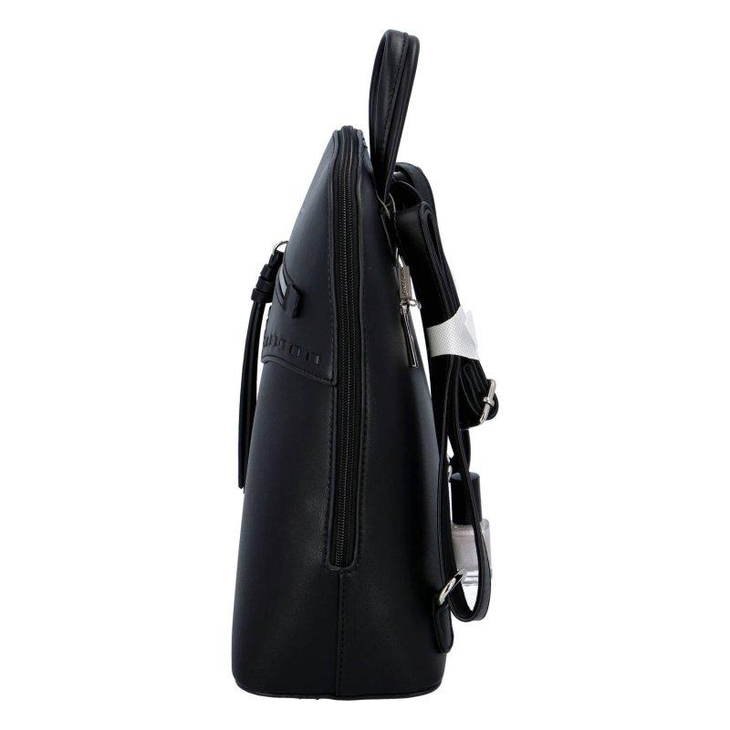 Městský dámský batůžek Samie, černý