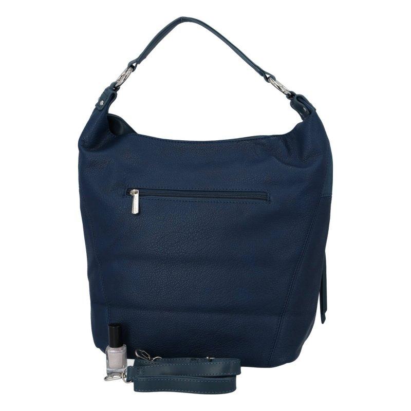 Dámská trendová kabelka Joalin, modrá