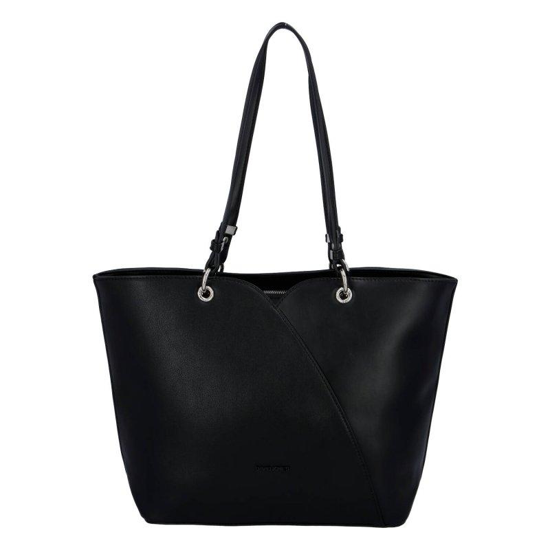 Dámská luxusní kabelka Lauren, černý
