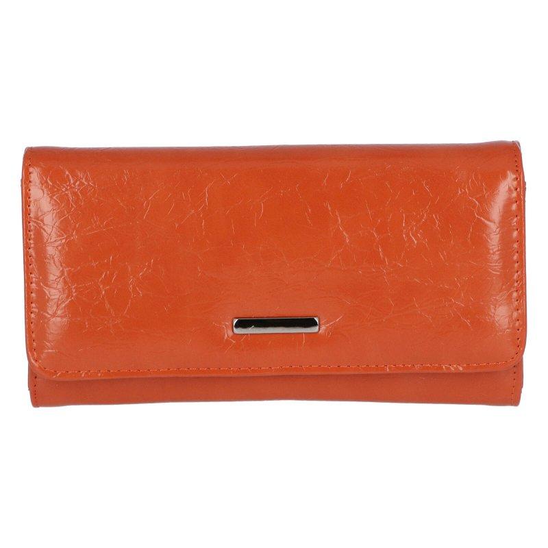 Dámské koženkové psaníčko Bella, oranžové