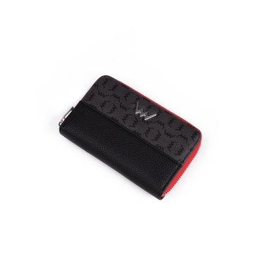 Dámská koženková peněženka VUCH Avery, černá
