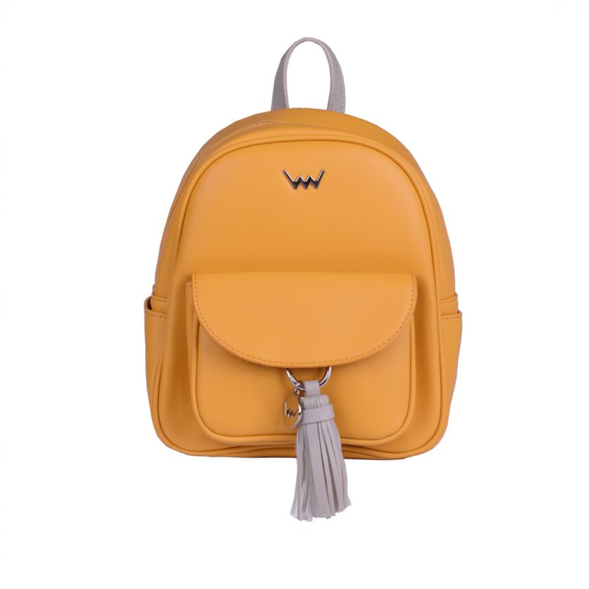 Dámský koženkový batoh VUCH Bony, žlutý
