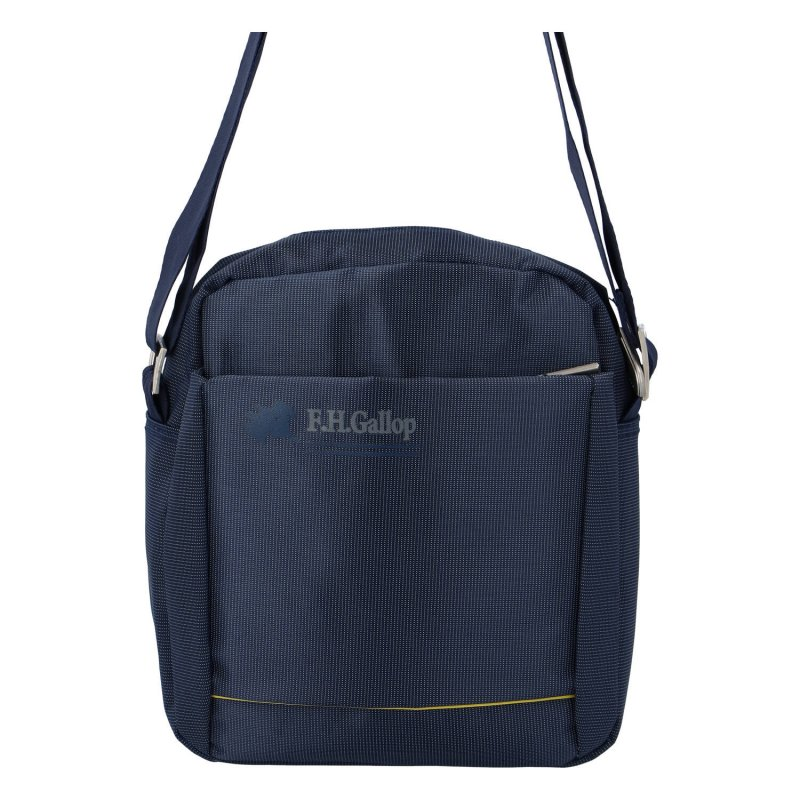 Menší pánská látková taška Sport, modrá