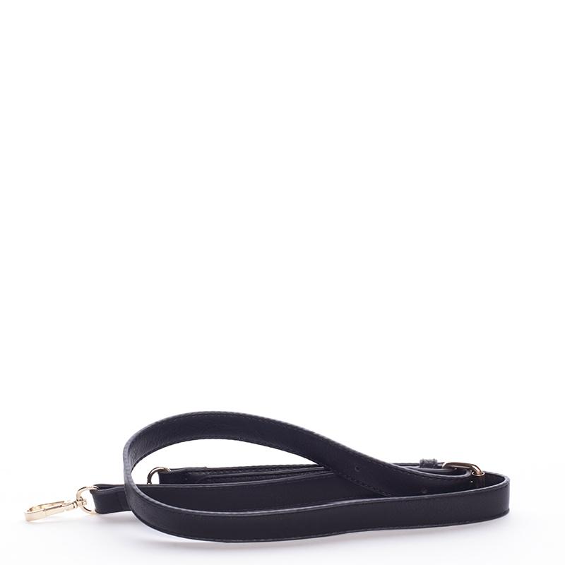 Luxusní kabelka do ruky i přes rameno Alejanda, černá