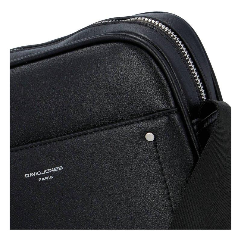 Elegantní a stylová unisex crossbody taška Marcelle, černá