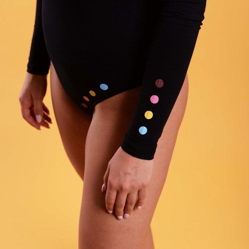 Dámské Body Black Dots, velikost L