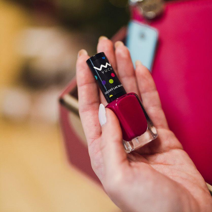 Dárkový set VUCH Romantic date, kabelka, peněženka, náramek a lak na nehty