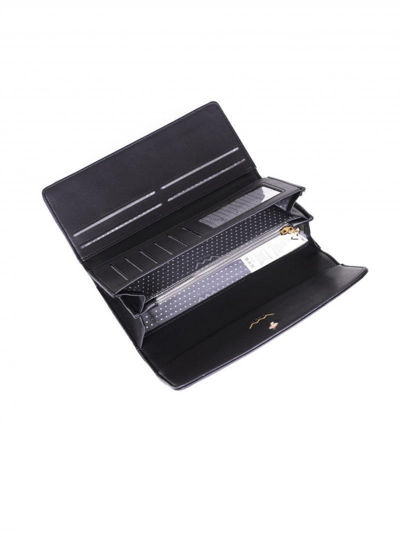 Dámská koženková peněženka VUCH Garima, černá