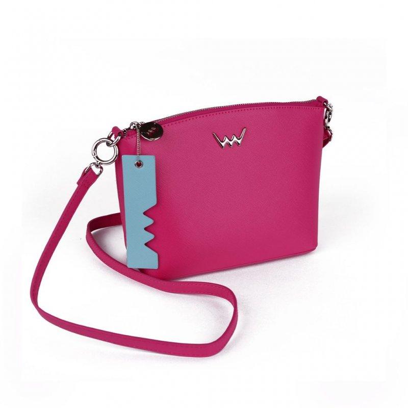 Dámská koženková kabelka VUCH Aurora, růžová