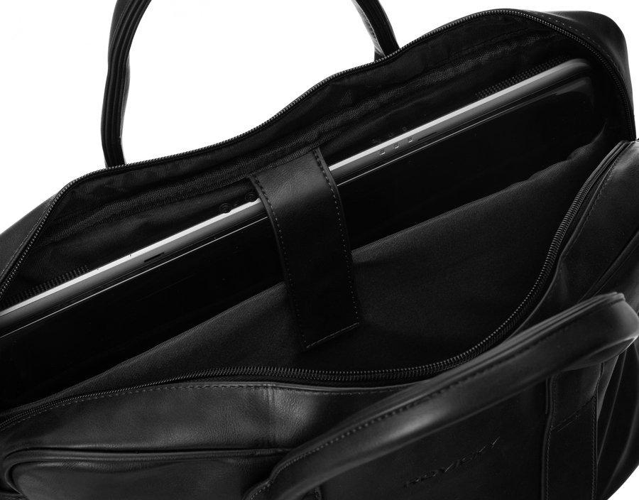 Taška na laptop 15,6 přes rameno Tom, černá