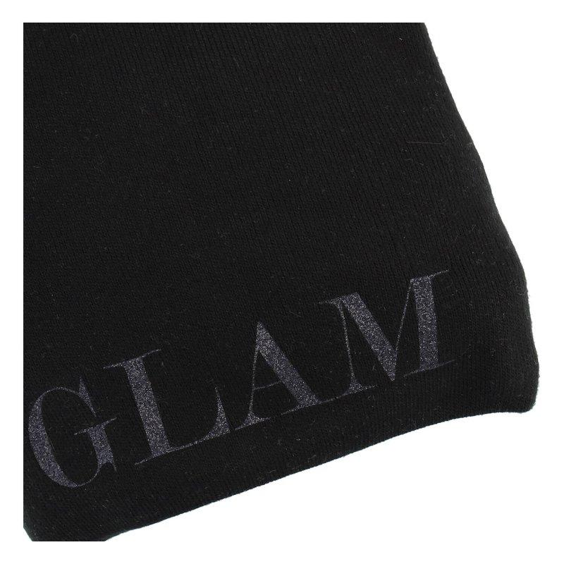 Dámská zimní čepice Glamourous girl, černá