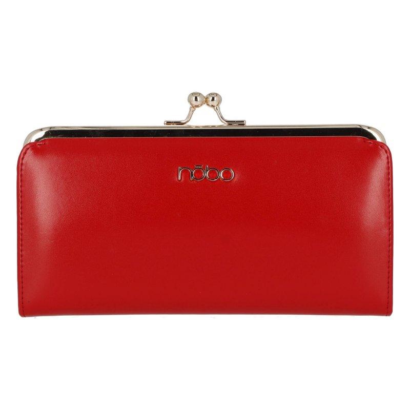 Dámská kožená peněženka Lady NOBO, červená