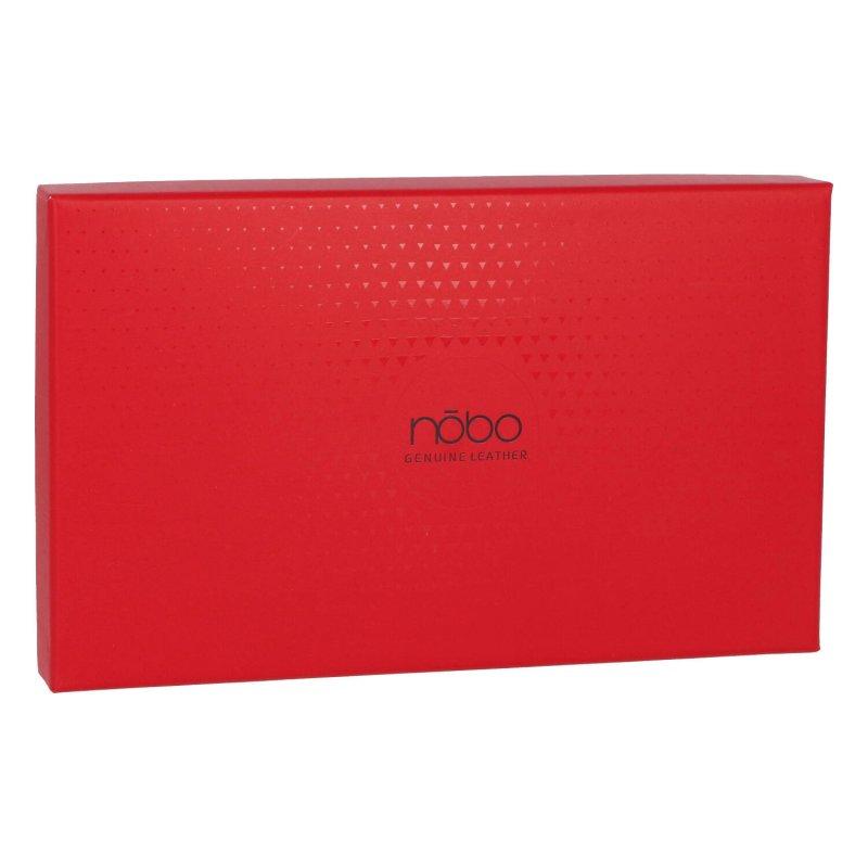 Extravagantní dámská kožená peněženka Snake NOBO, červená