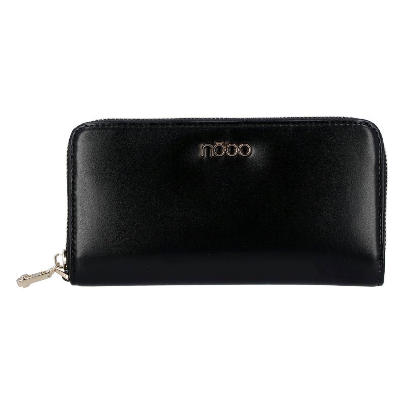 Elegantní dámská kožená peněženka Elegant NOBO, černá