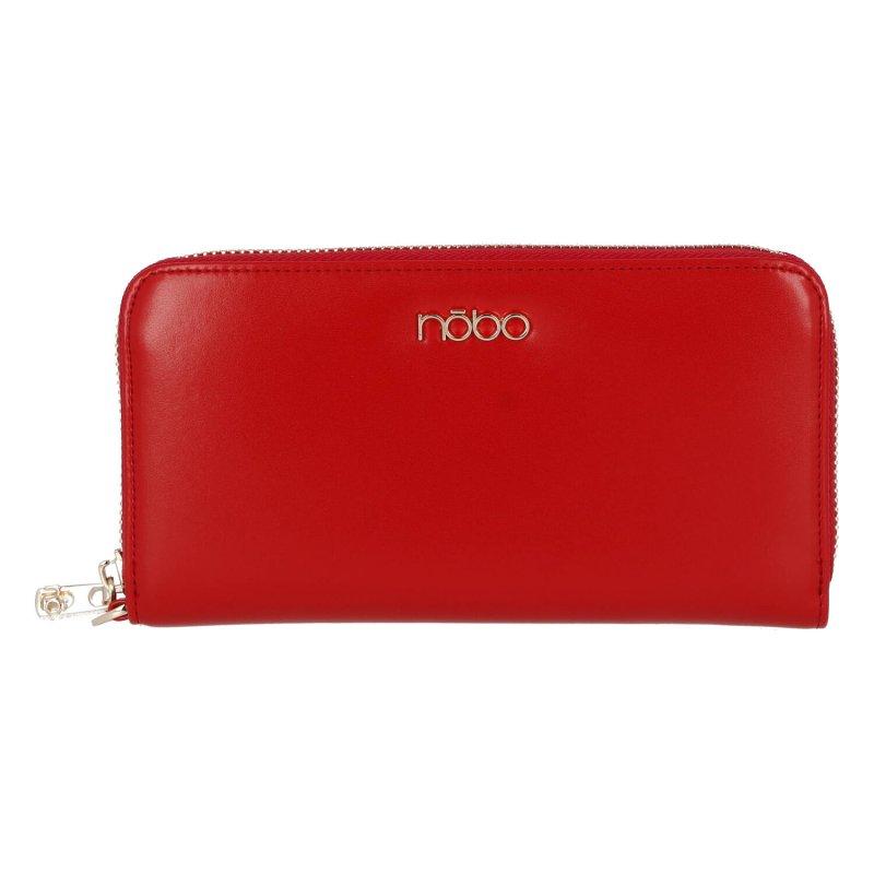 Moderní dámská kožená peněženka Modern NOBO, červená