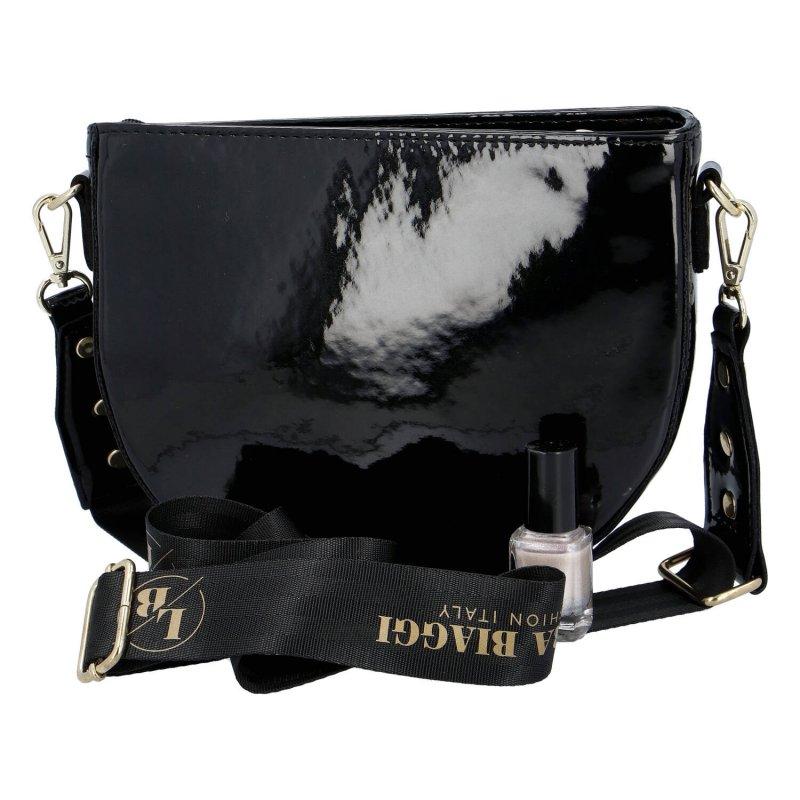 Trendová dámská kabelka Laura gold, zlatá
