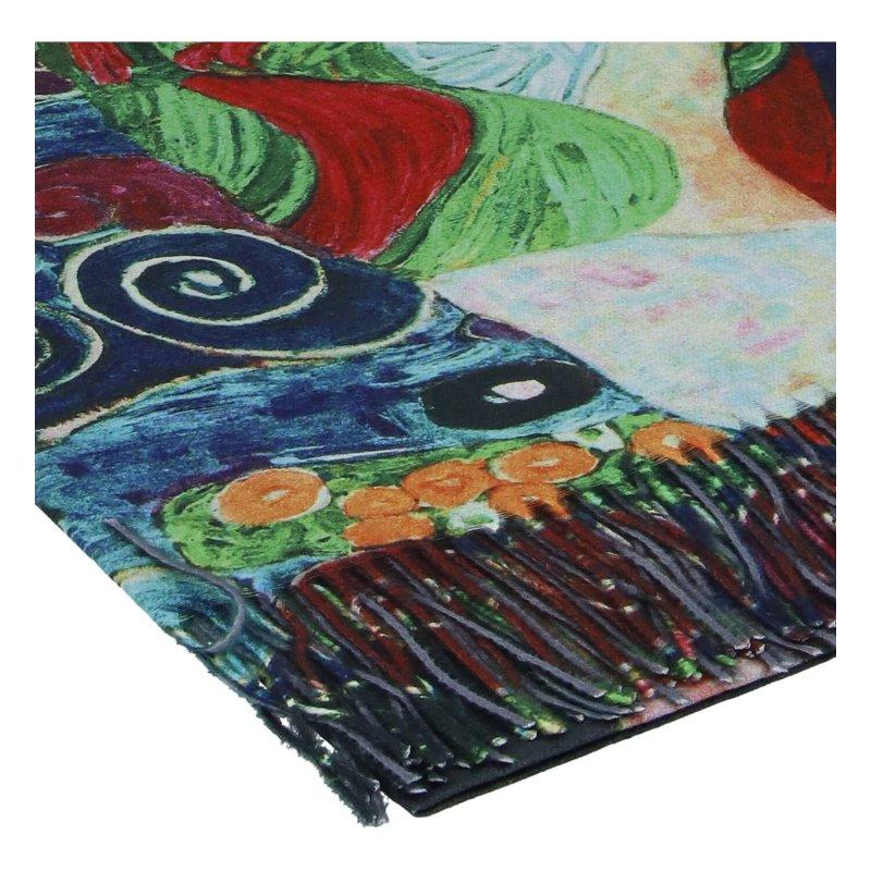Dámská šála Passion Klimt, mix barev