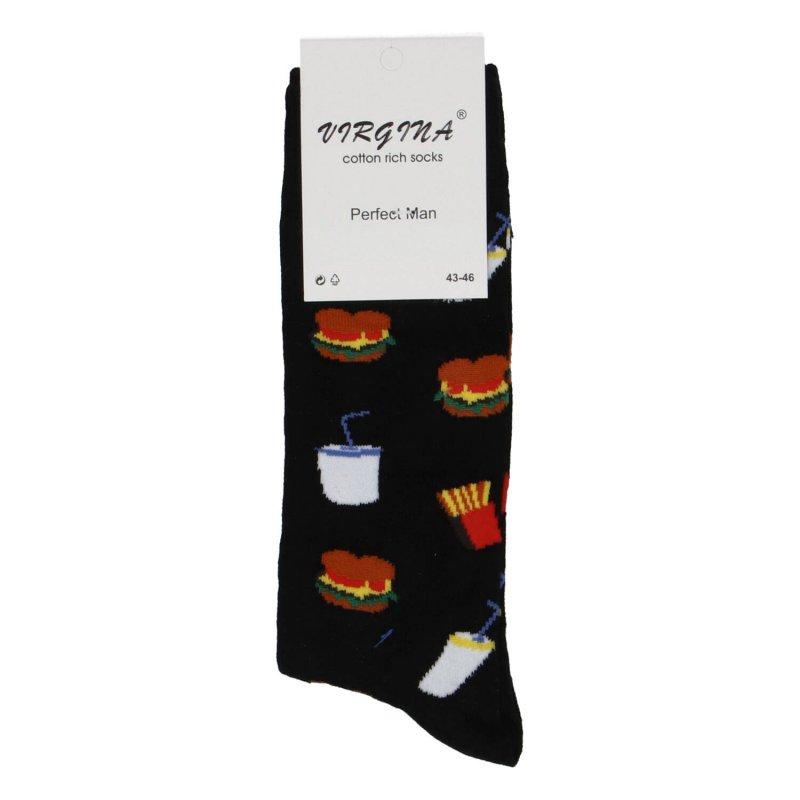 Ponožky Hamburger 39-42, černé