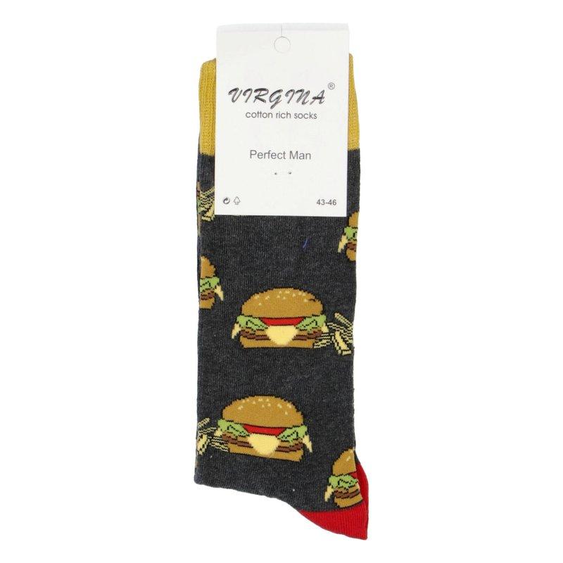 Ponožky Hamburger 43-46, šedé