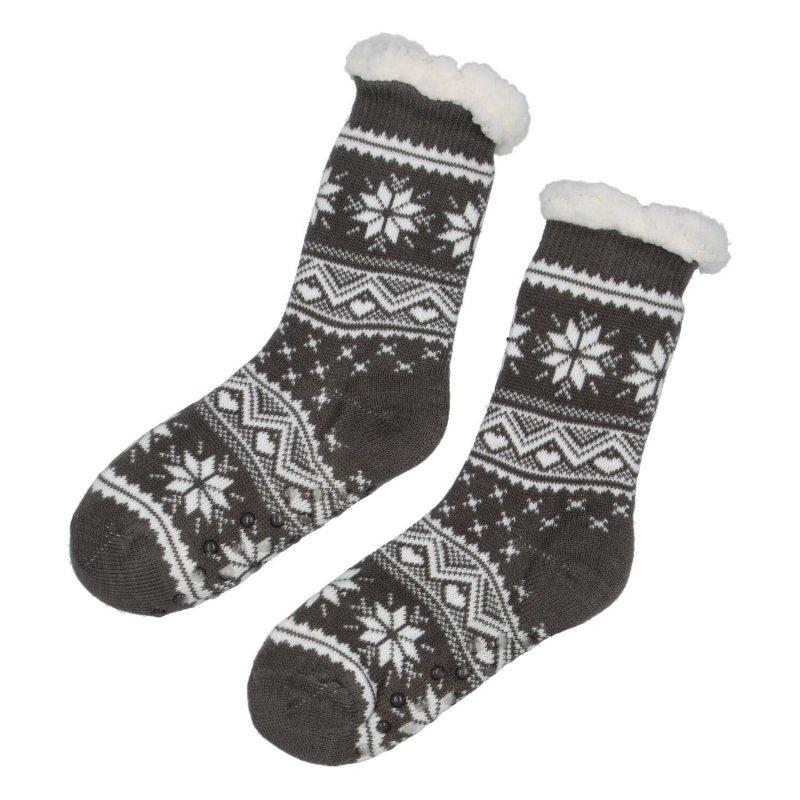 Hřejivé ponožky Sibil, tmavě šedá vel. 39-42