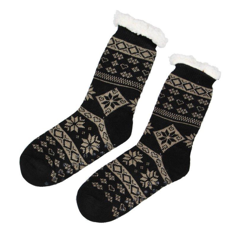 Hřejivé ponožky Sibil, černá vel. 43-46