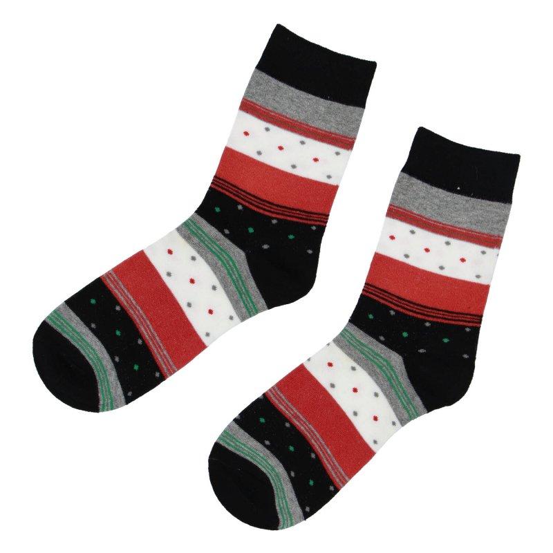 Ponožky Proužky 38-41, oranžové