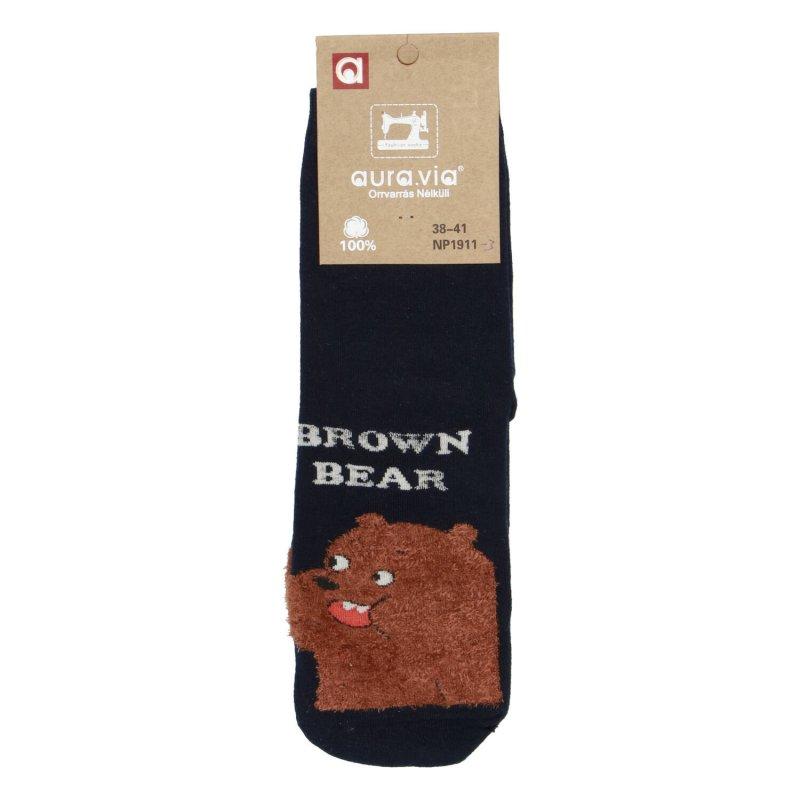 Ponožky Brown Bear 38-41, černé