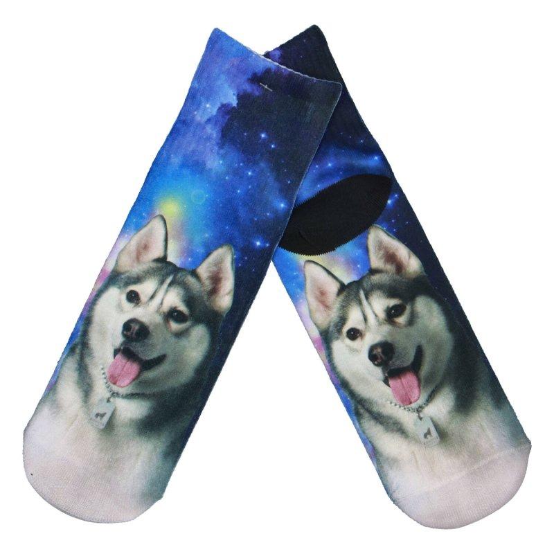 Ponožky Husky moon 35-38, modré