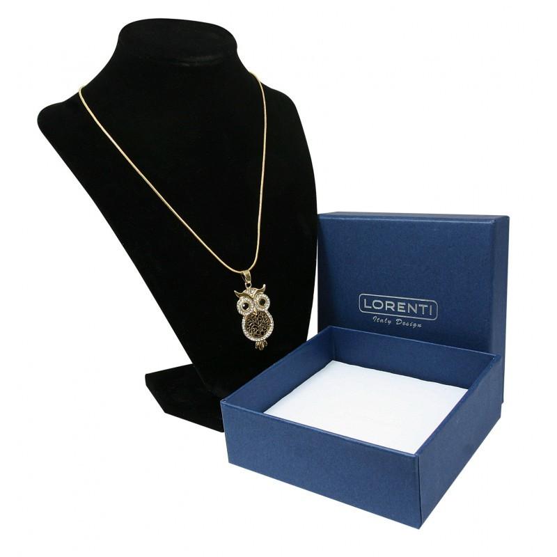 Dámský náhrdelník Sovička moudrosti, zlatý
