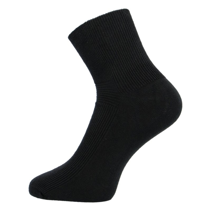 Wellness ponožky balení 4 páry 43-46, černé