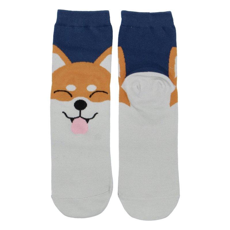 Dámské ponožky Fox with smile 35-38, modré