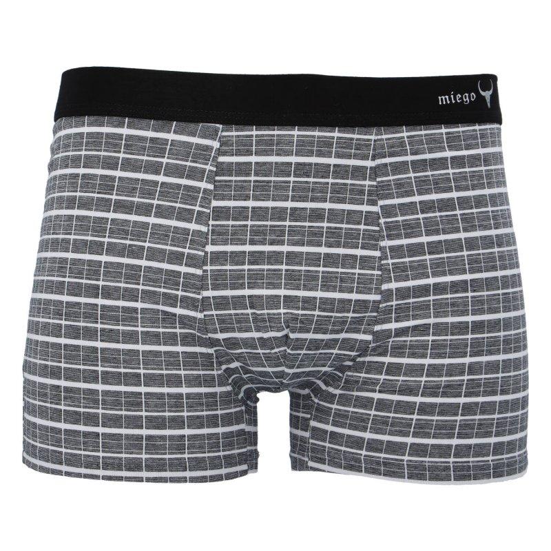 Pánské bavlněné trenýrky, černé, velikost XL