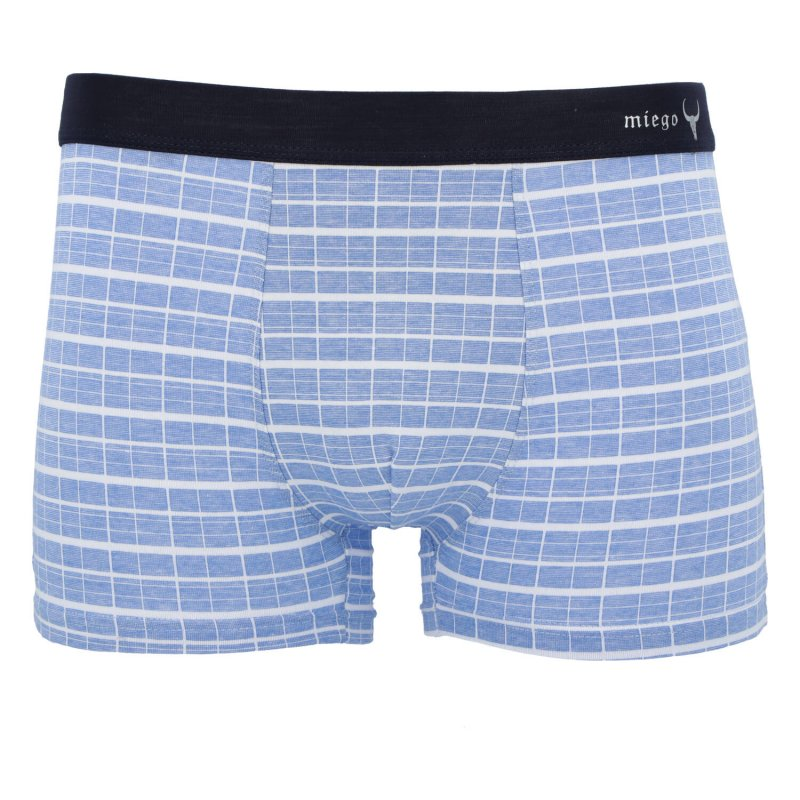 Pánské bavlněné trenýrky, modré, velikost XL