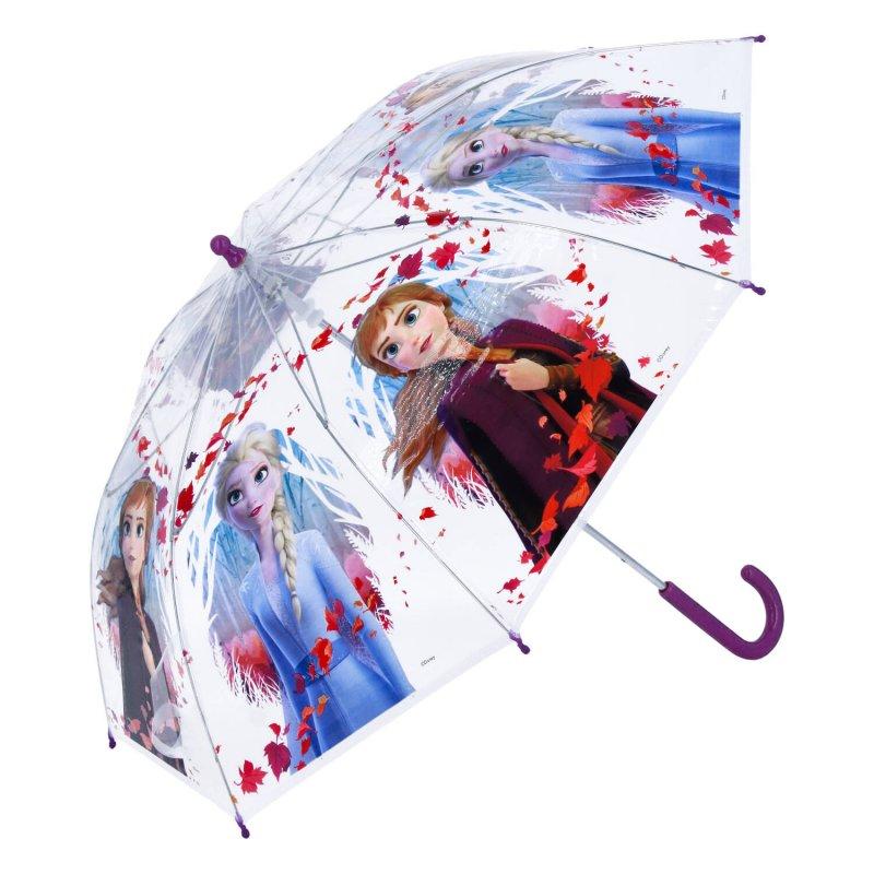 Deštník pro holčičky Frozen, průhledný