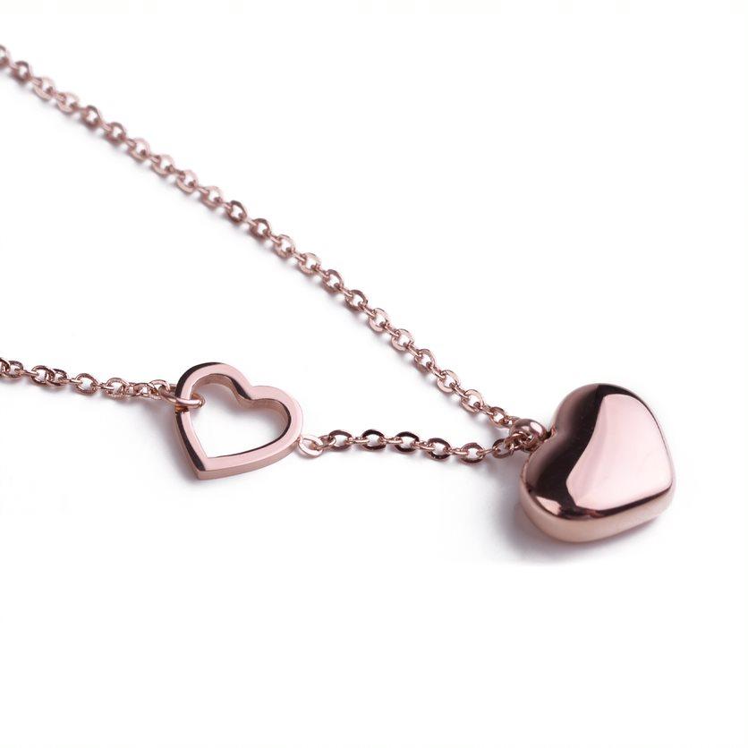Dámský náhrdelník VUCH Inlove Rose Gold, růžově zlatý