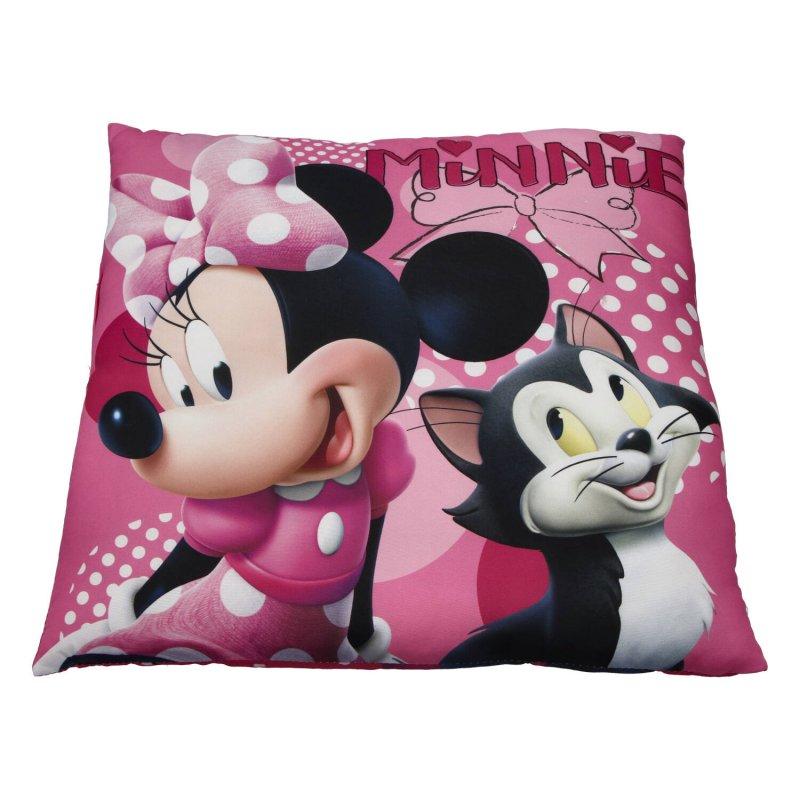 Dětský polštářek Minnie Mouse, růžový
