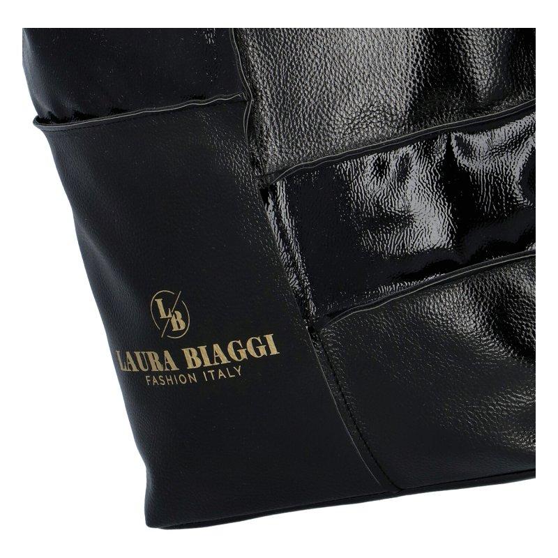 Dámská kabelka Laura Biaggi Black elegance, černá