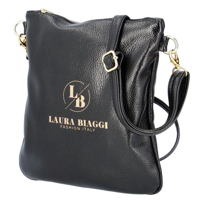 Dámská koženková kabelka LB City lady, černá