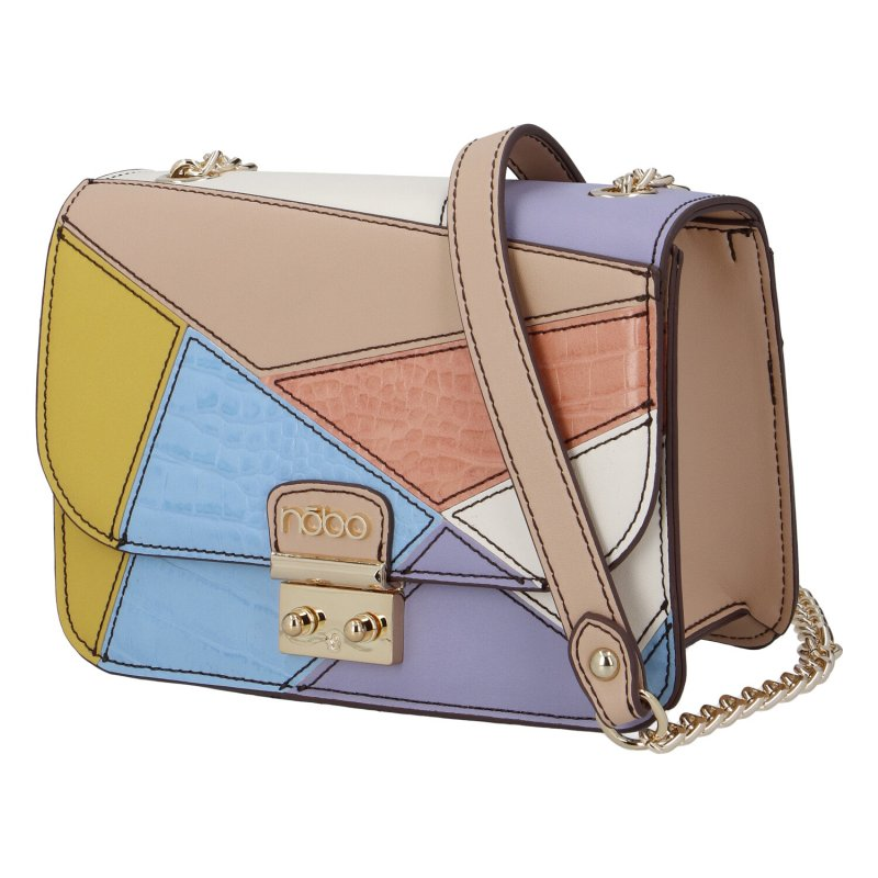 Extravagantní dámská koženková kabelka Nobo extravagant,barevná