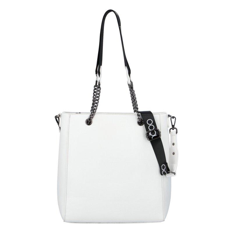 Stylová dámská kabelka Nobo Anne, bílá