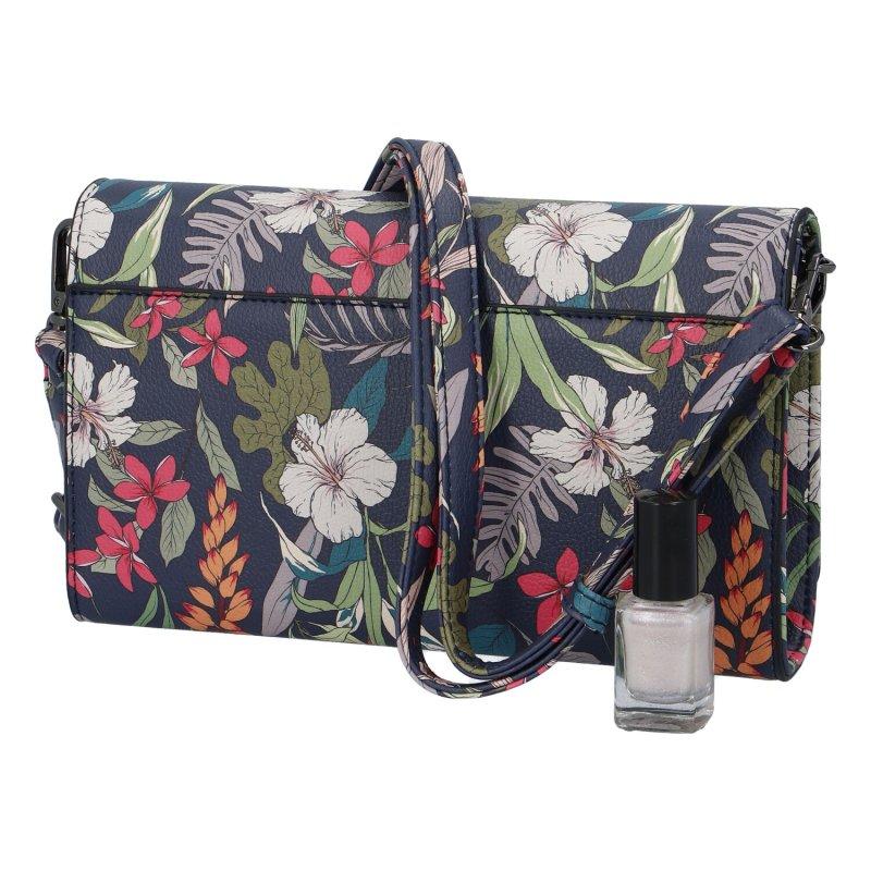 Trendová dámská koženková kabelka Nobo Flower meadow, barevná