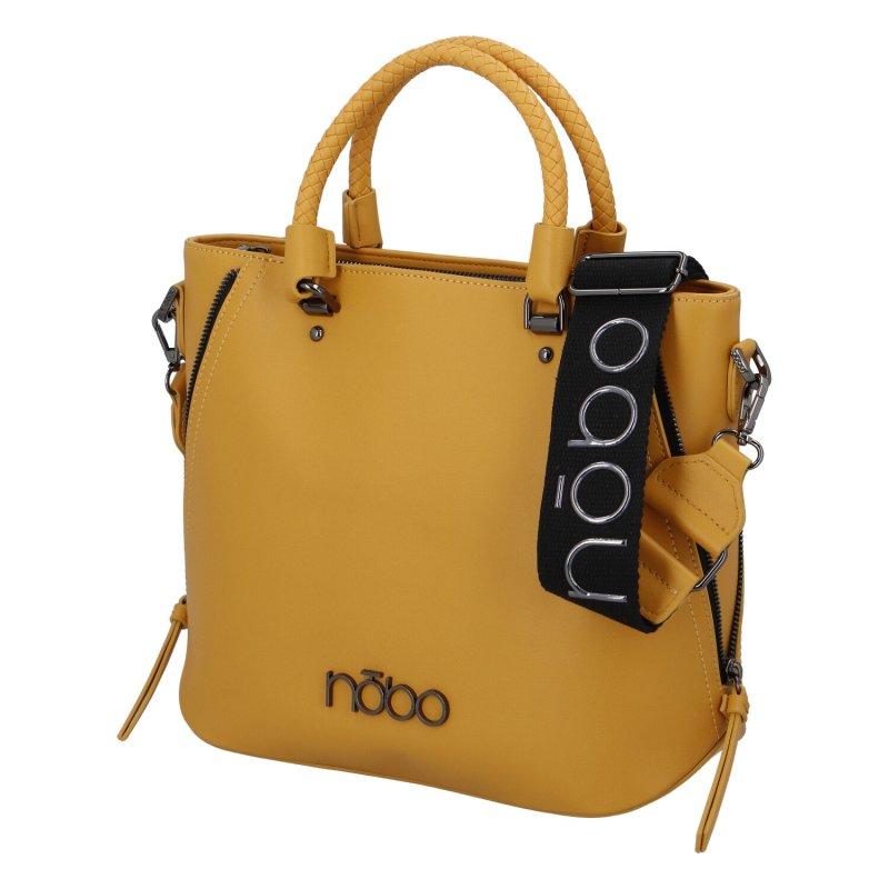 Dámská koženková kabelka Nobo Trendy in yellow, žlutá