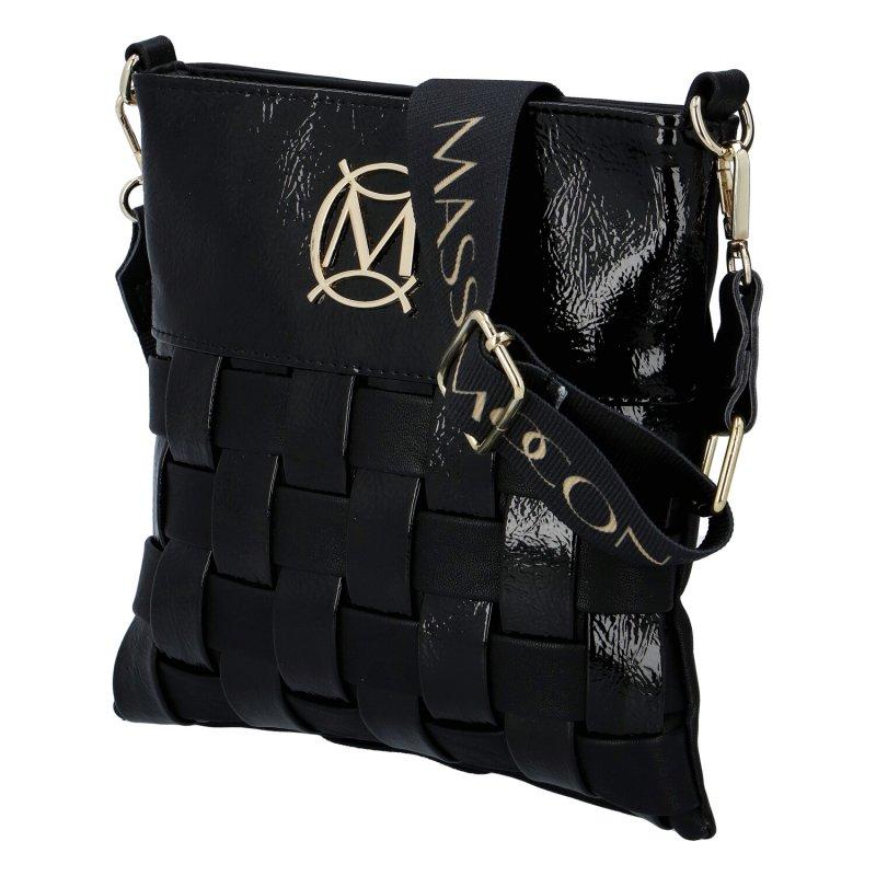 Dámská kabelka MASSIMO Conti Moderno, černá