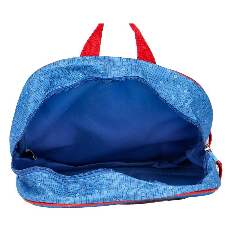Školní batůžek Cars, modro-červený