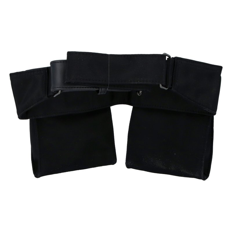 Látková kapsa kolem pasu Daniel, černá
